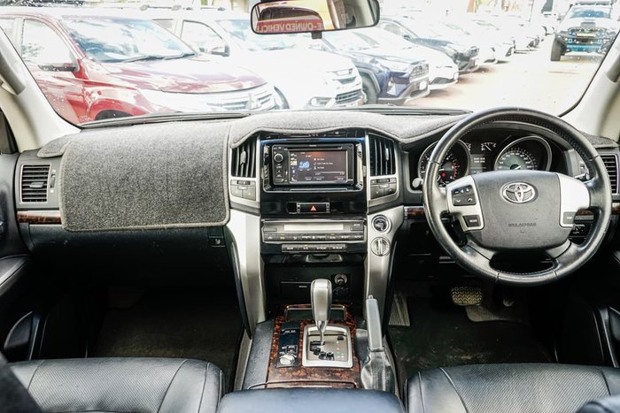 2013 Toyota Landcruiser VX VDJ200R MY13 4X4 Constant Silver