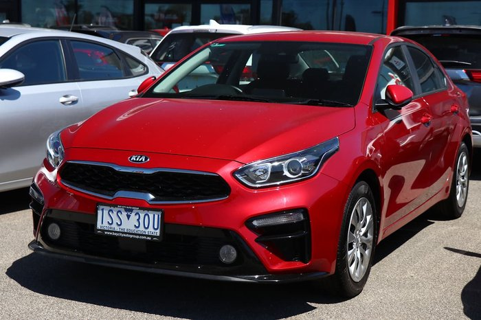 2019 Kia Cerato S BD MY19 Red