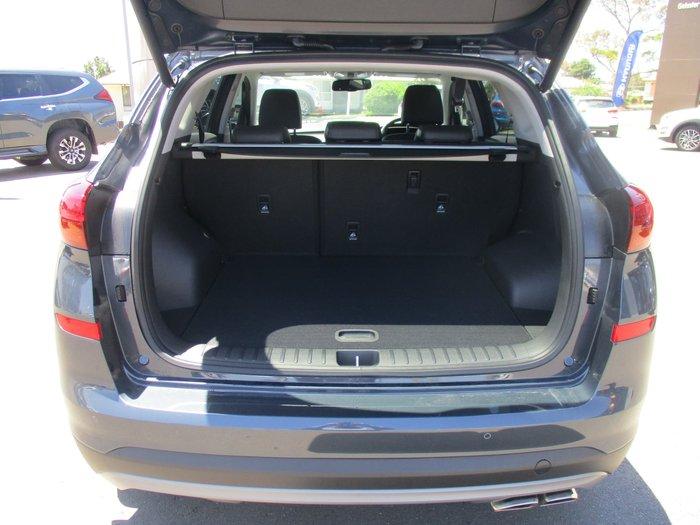 2020 Hyundai Tucson Highlander TL3 MY20 4X4 On Demand Blue