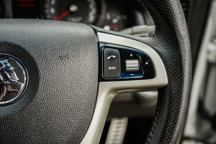 2012 Holden Commodore SS V Redline VE Series II MY12 White