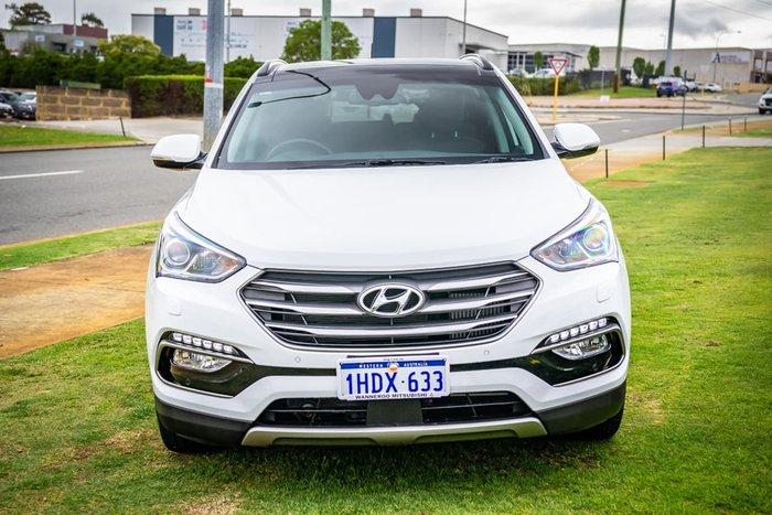 2017 Hyundai Santa Fe Highlander DM3 Series II MY17 4X4 On Demand White