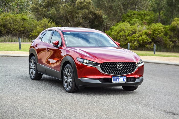 2020 Mazda CX-30 X20 Astina DM Series 4X4 On Demand Red