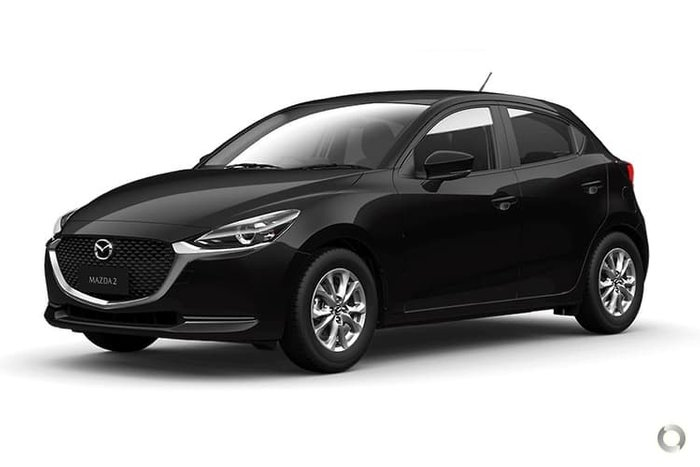 2020 Mazda 2 G15 Pure DJ Series Black