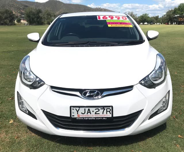 2015 Hyundai Elantra Elite MD3 White