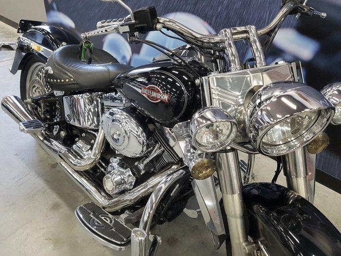 2007 Harley-davidson FLSTC HERITAGE SOFTAIL CLASSIC Black