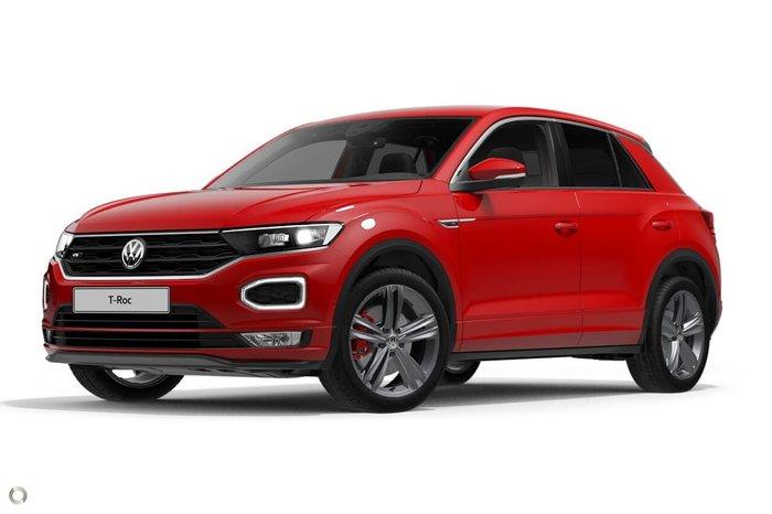 2020 Volkswagen T-Roc 140TSI Sport A1 MY20 Four Wheel Drive Red