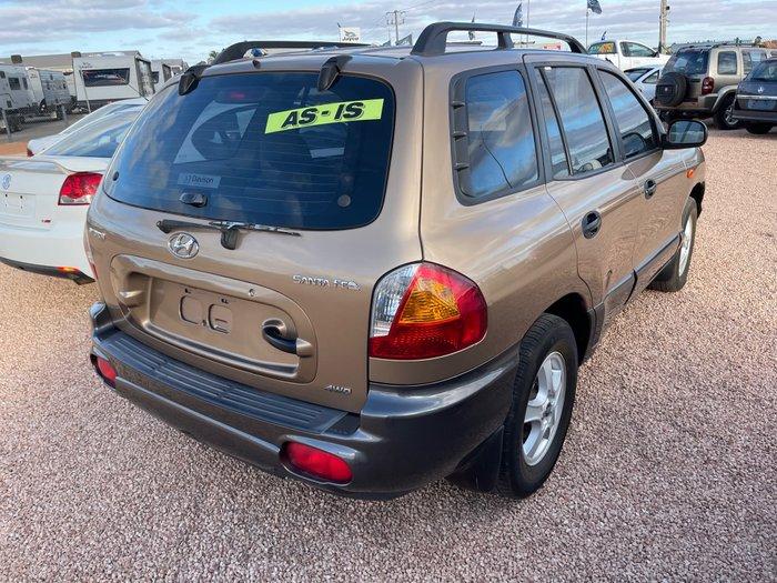 2002 Hyundai Santa Fe GL SM 4X4 Constant Bronze