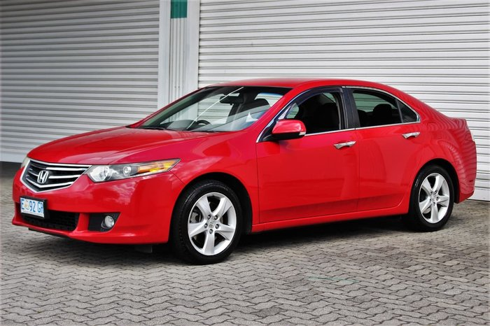2011 Honda Accord Euro 8th Gen MY11 Red