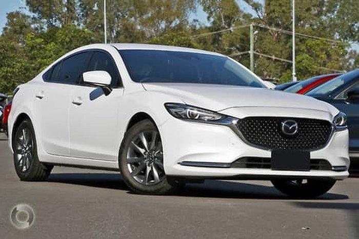 2020 Mazda 6 Touring GL Series White