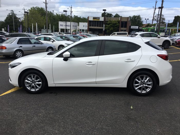 2017 Mazda 3 Neo BN Series White