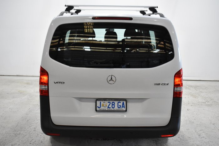 2018 Mercedes-Benz Vito 119BlueTEC 447 White