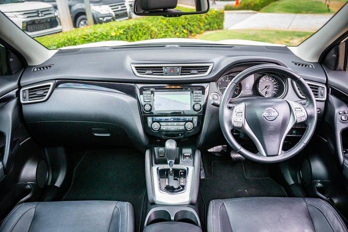 2014 Nissan QASHQAI Ti J11 White