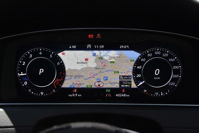 2018 Volkswagen Golf R 7.5 MY18 Four Wheel Drive Black
