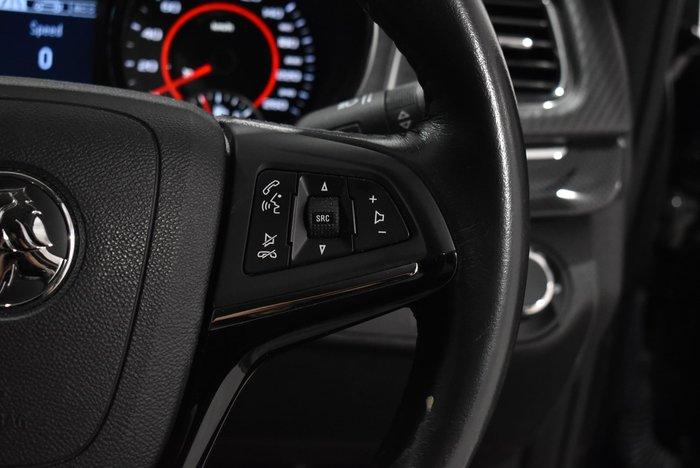 2016 Holden Commodore SV6 Black VF Series II MY16 Black