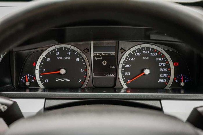 2013 Ford Falcon Ute XR6 FG MkII Black