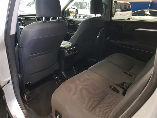 2018 Toyota Kluger GX GSU55R Four Wheel Drive Silver