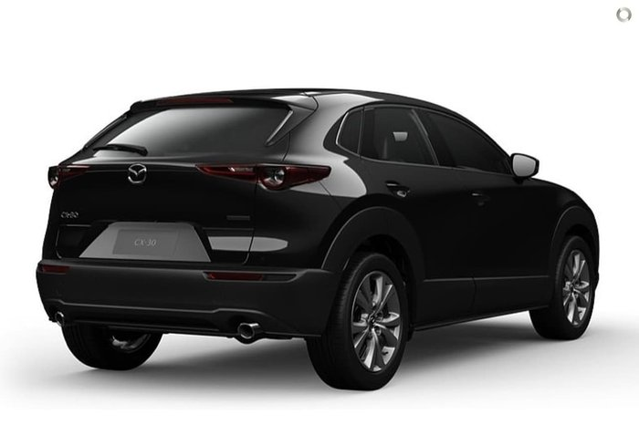 2020 Mazda CX-30 G25 Touring DM Series 4X4 On Demand Jet Black