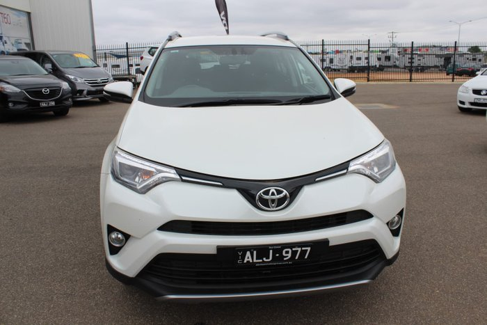 2016 Toyota RAV4 GXL ALA49R 4X4 On Demand White