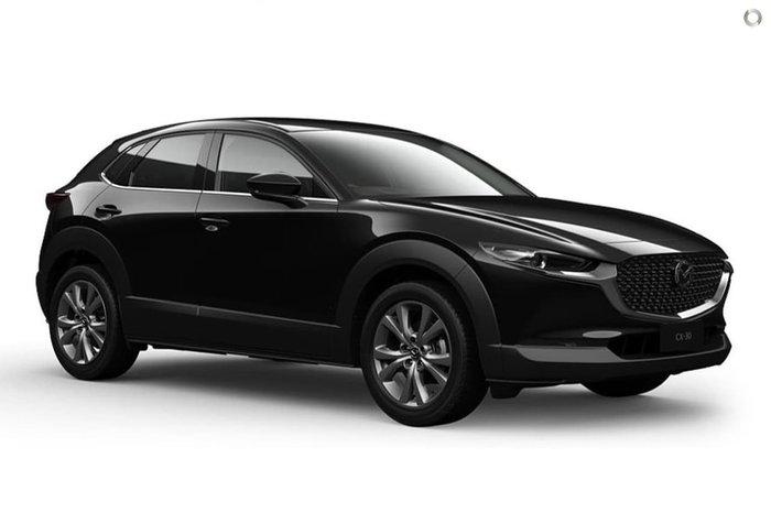 2020 Mazda CX-30 G20 Touring DM Series Jet Black