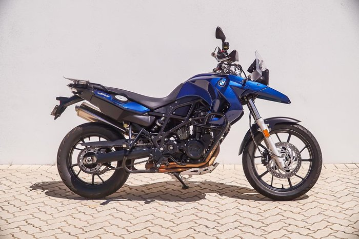 2010 BMW F 650 GS (800CC) Blue
