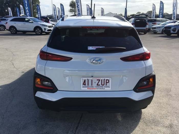 2018 Hyundai Kona Active OS MY18 White