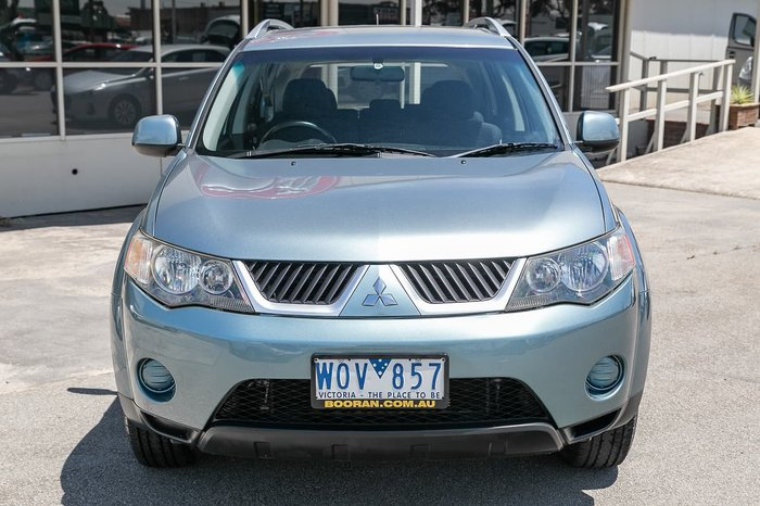 2008 Mitsubishi Outlander LS ZG MY08 4X4 On Demand Green