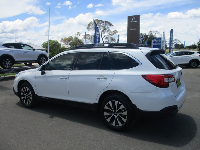 2016 Subaru Outback 2.5i 5GEN MY16 Four Wheel Drive White