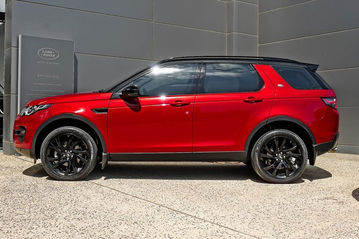 2016 Land Rover Discovery Sport TD4 150 HSE L550 MY17 4X4 Constant Red