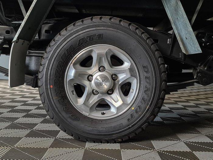 2014 Toyota Landcruiser GXL VDJ79R 4X4 Dual Range White