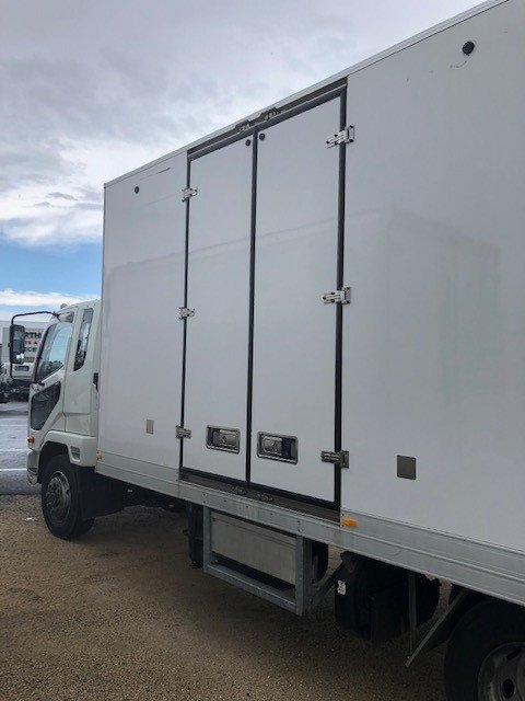 2015 Fuso Fighter 1227 Fridge Pantech White