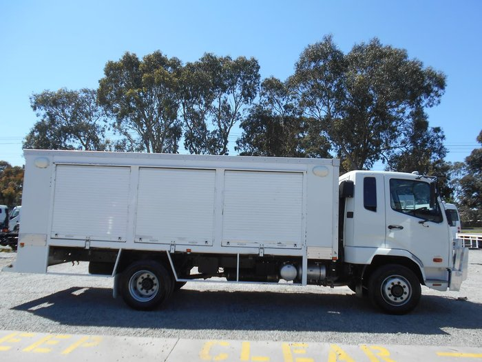 2013 FUSO FIGHTER 1224 White