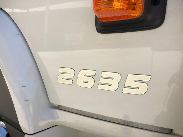 2020 HINO FM 2635 White