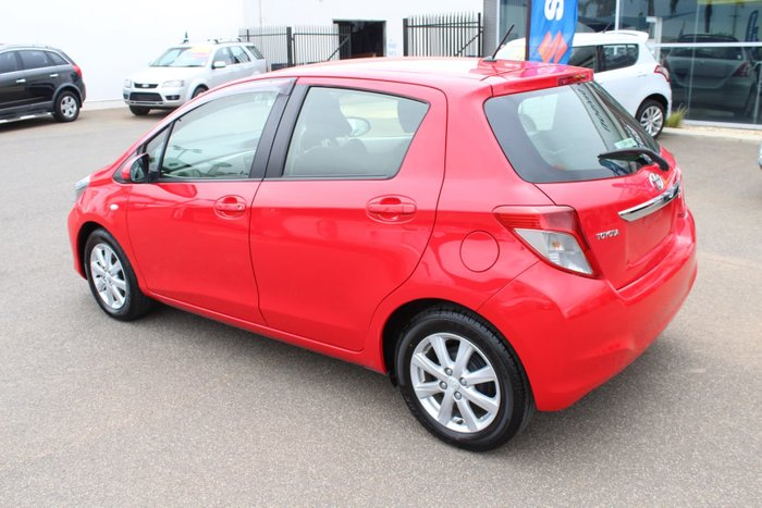 2013 Toyota Yaris YRX NCP131R Red