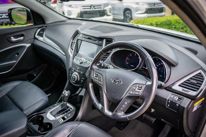 2013 Hyundai Santa Fe Highlander DM MY14 4X4 On Demand White