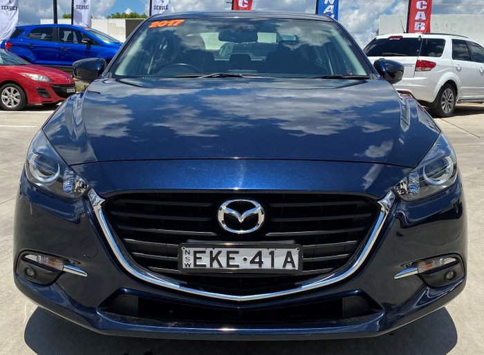 2017 Mazda 3 SP25 BN Series Blue