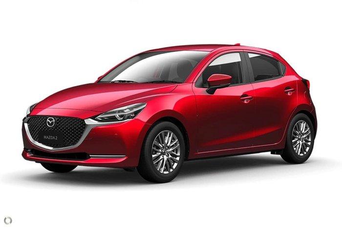 2020 Mazda 2 G15 GT DJ Series Red