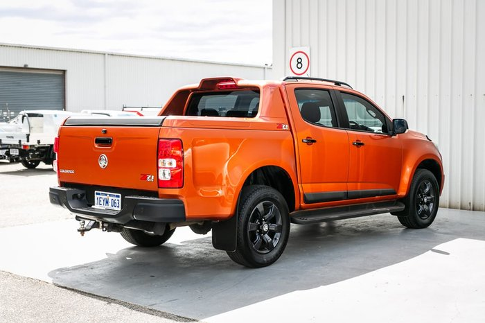 2015 Holden Colorado Z71 RG MY16 4X4 Dual Range Orange