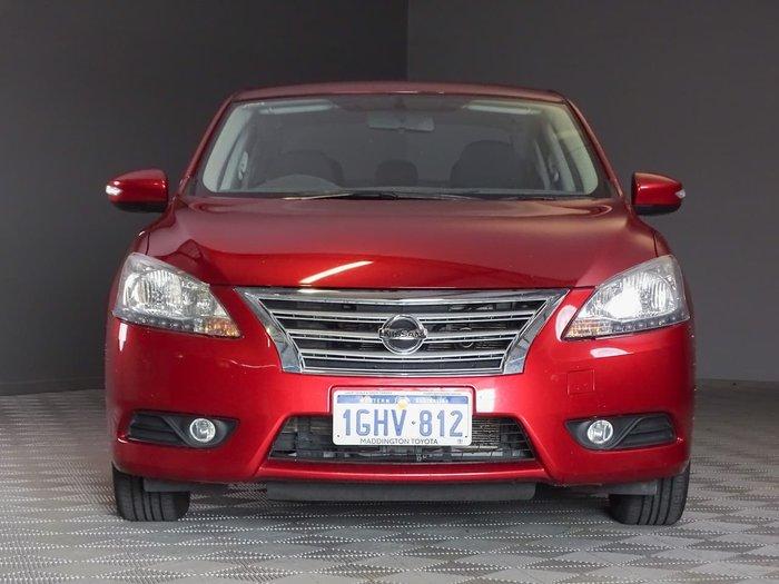 2014 Nissan Pulsar ST-L B17 Red