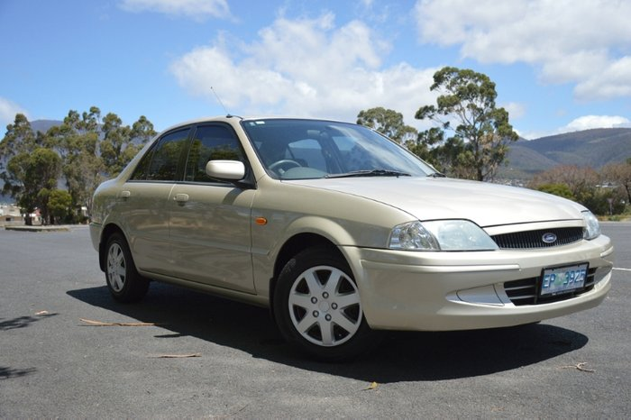 2000 Ford Laser GLXi KN SILVER