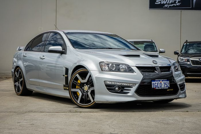 2010 Holden Special Vehicles GTS E Series 2 Silver