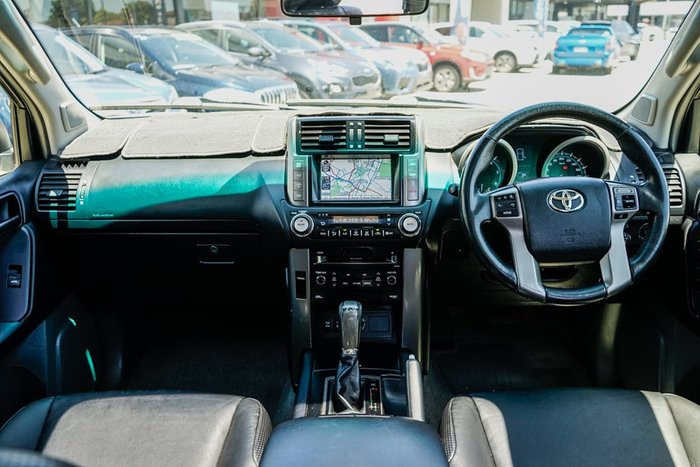 2012 Toyota Landcruiser Prado Altitude KDJ150R 4X4 Constant White
