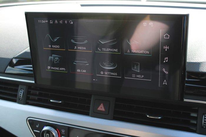 2020 Audi A4 45 TFSI S line B9 MY20 Four Wheel Drive White