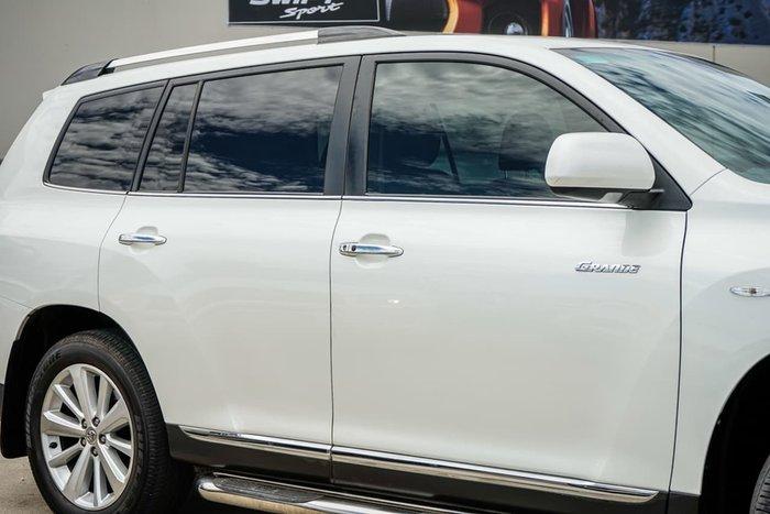 2012 Toyota Kluger Grande GSU40R MY12 White