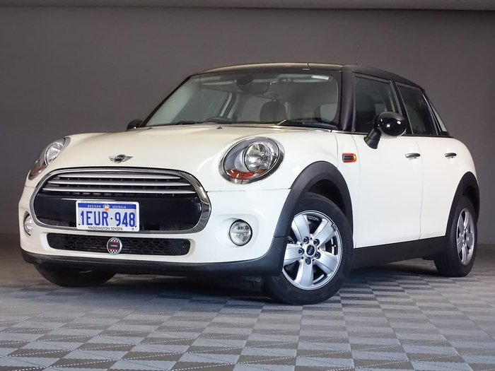 2015 MINI Hatch Cooper F55 White
