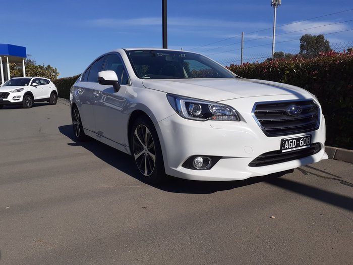 2015 Subaru Liberty 2.5i Premium 6GEN MY15 Four Wheel Drive White