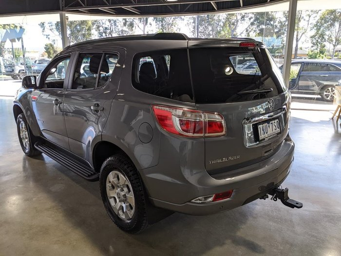 2018 Holden Trailblazer LT RG MY18 4X4 Dual Range Satin Steel Grey