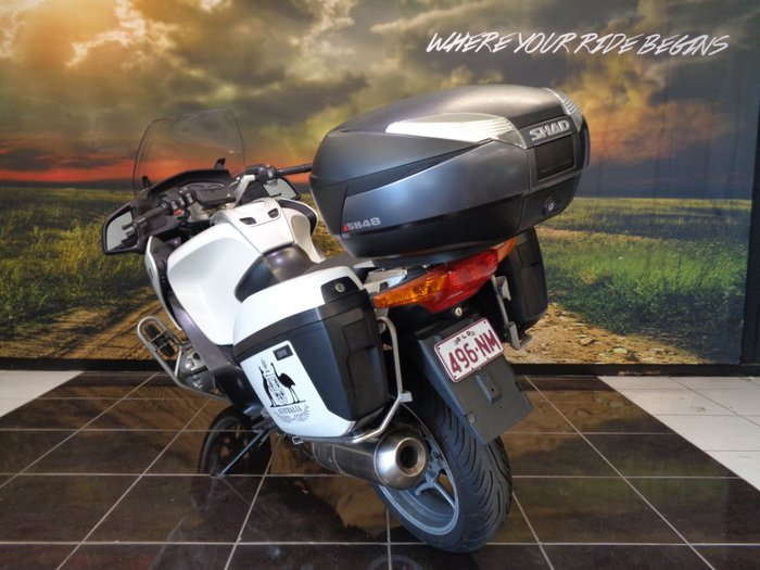 2009 BMW R1200 RT WHITE