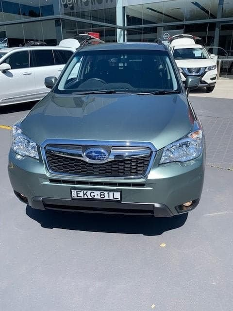 2015 Subaru Forester 2.0D-L S4 MY15 Four Wheel Drive Green