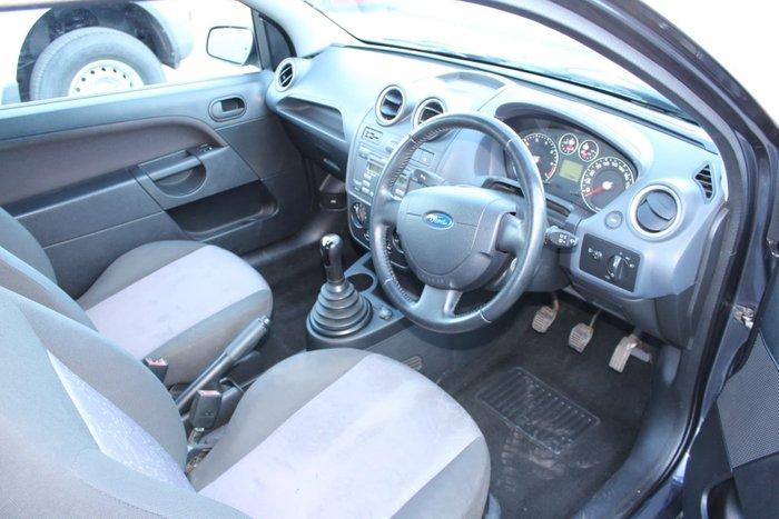 2008 Ford Fiesta LX WQ Sea Grey