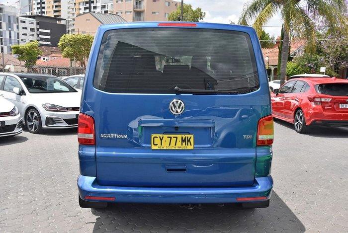 2015 Volkswagen Multivan TDI340 Comfortline T5 MY15 Blue